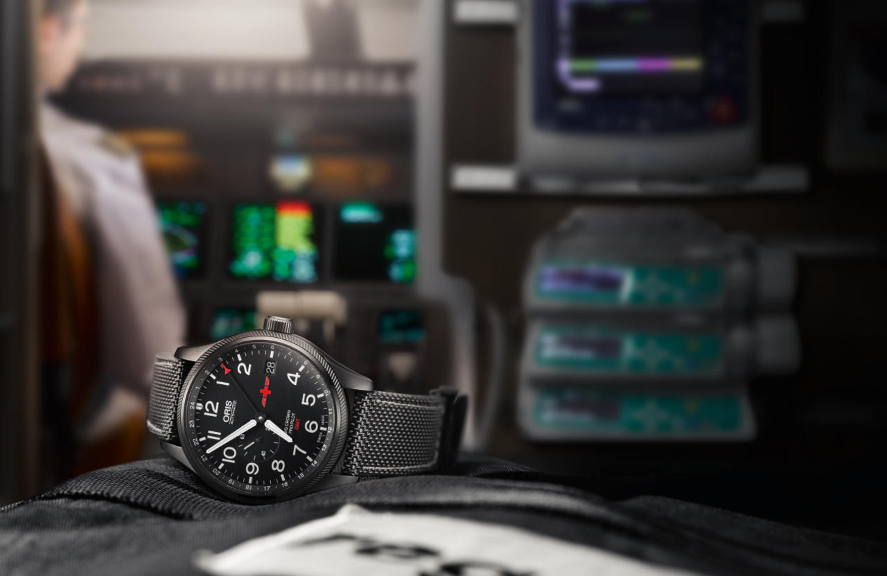 Oris and Rega Team Up to Produce GMT Rega Limited Edition