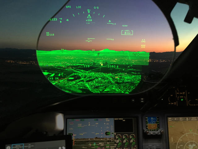 October/November 2017 - Enhanced Flight Vision Systems: Now