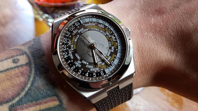 Vacheron Constantin Overseas Wrist