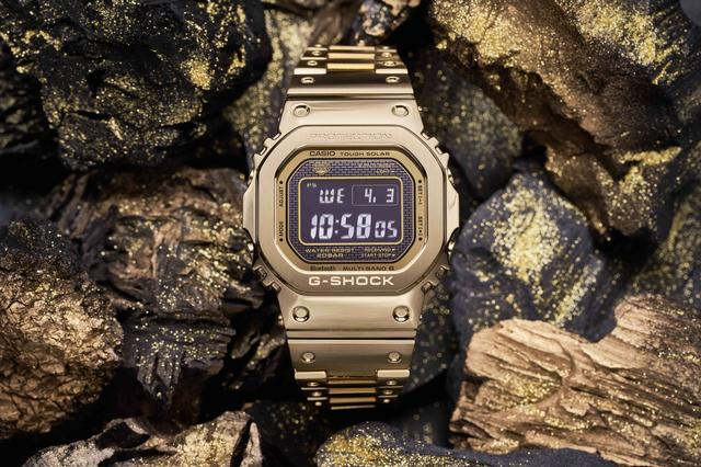G-SHOCK Gilds a Classic