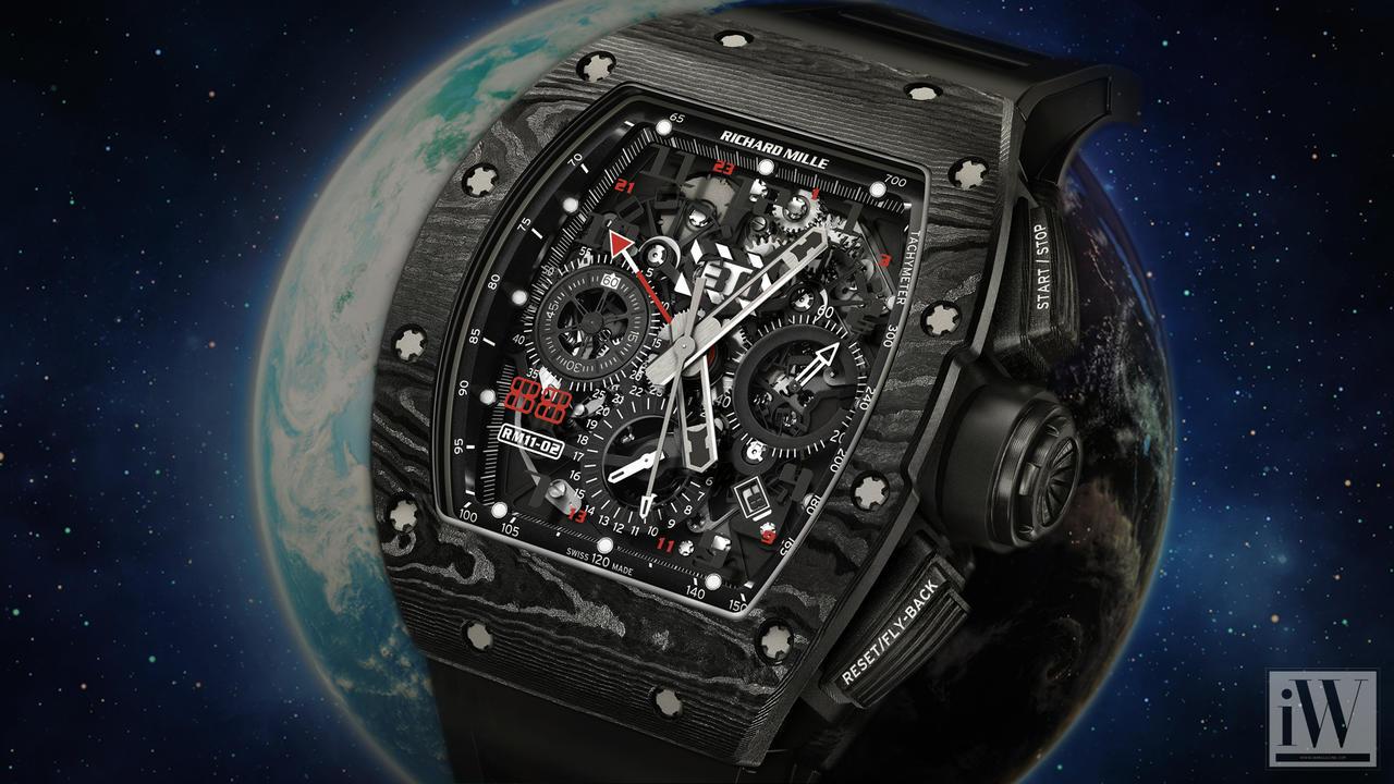 Jet Black for the Jet Set: Richard Mille RM 11-02
