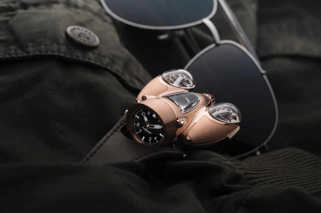 MB&F Gilds the HM9 Flow