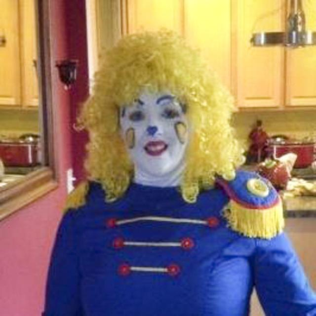 My mother, the clown. (Photos courtesyBrandon Ambrosino)