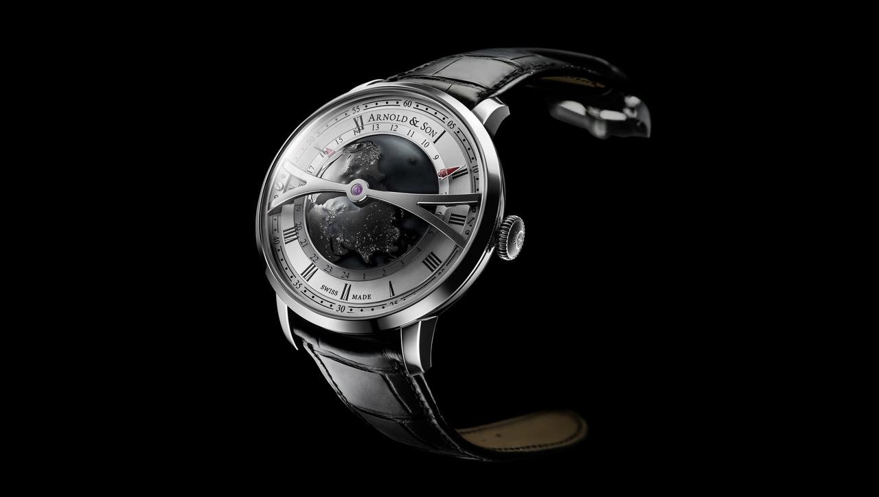 Arnold & Son Launches a Darker Globetrotter