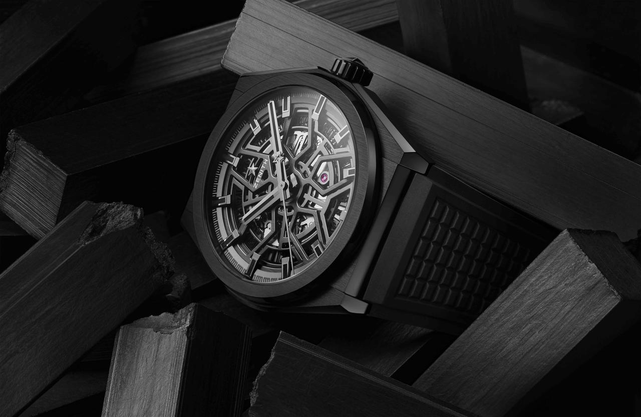 Zenith Darkens the Defy Classic
