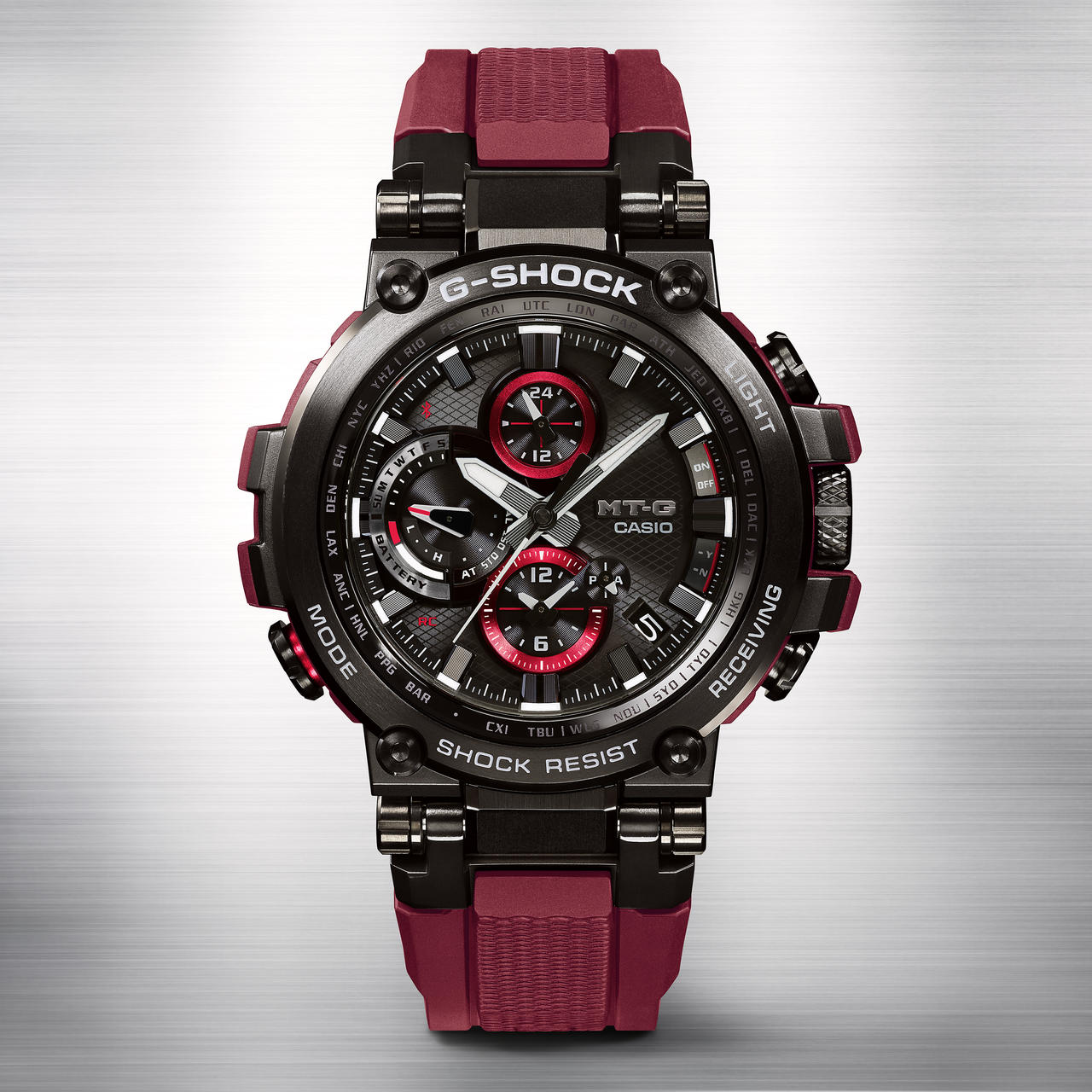 Red Alert: G-SHOCK Launches Hot New MT-G Limited Edition