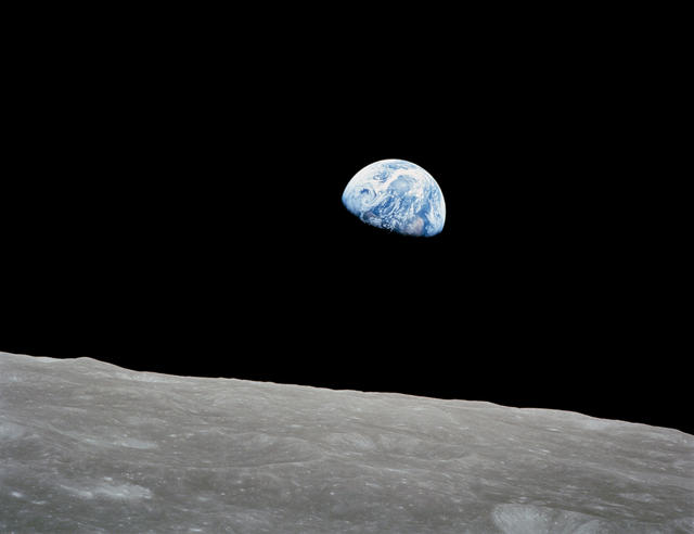 Why the Moon? Why Mars? For Earth.