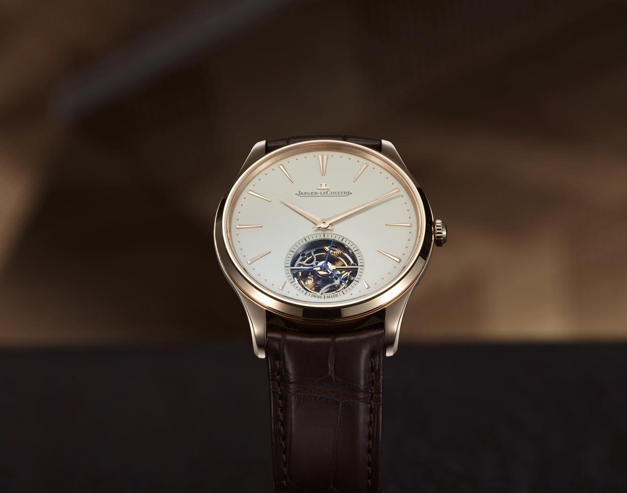 Jaeger-LeCoultre Master Ultra Thin Tourbillon, pink gold
