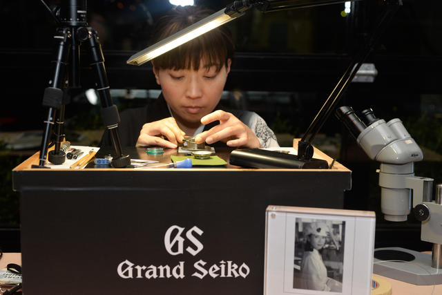 Saving Promise Foundation Benefits From Grand Seiko Party