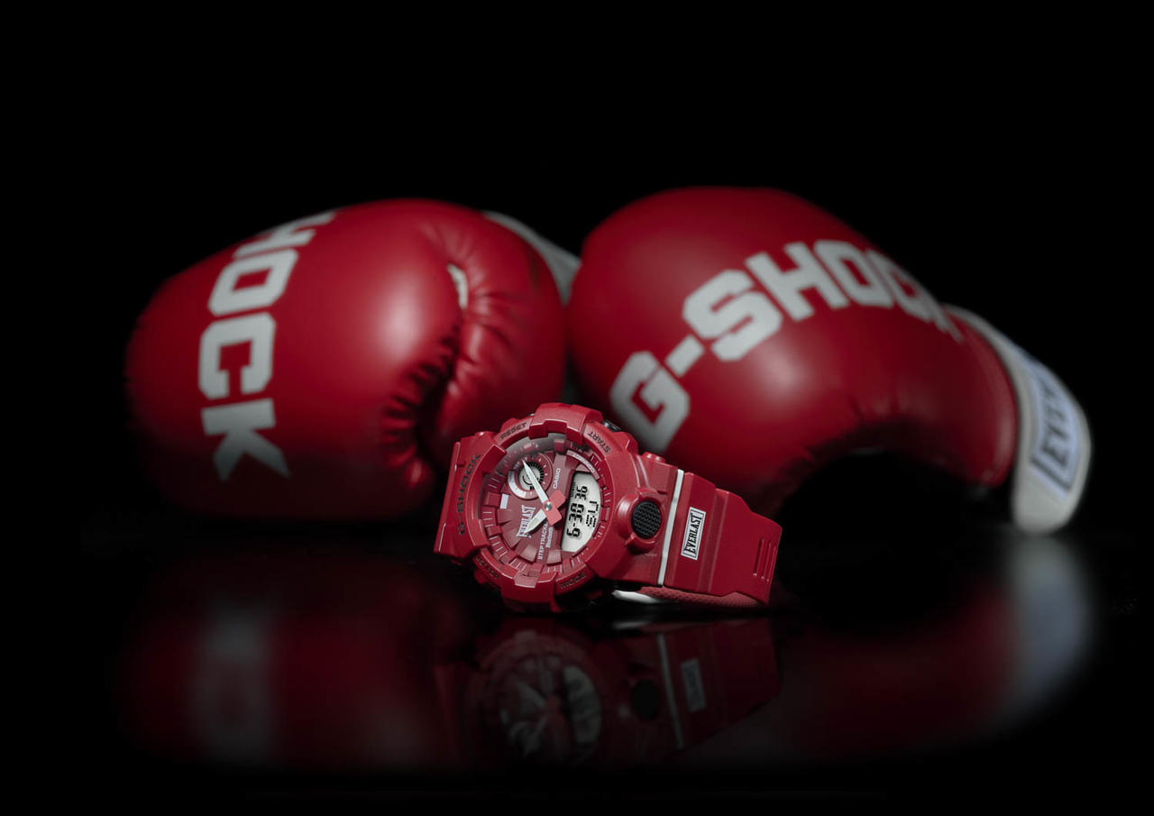G-SHOCK and Everlast Team Up for Fitness