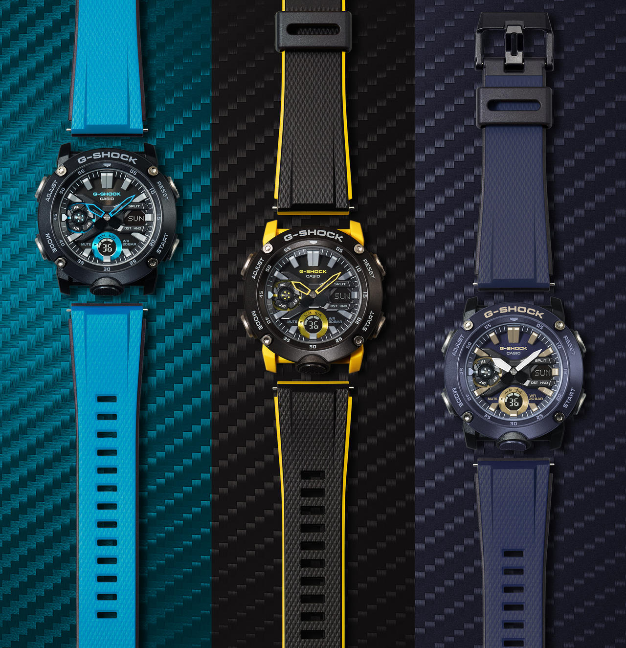 Change Your Colors with G-SHOCK's New Interchangeable Bands Models