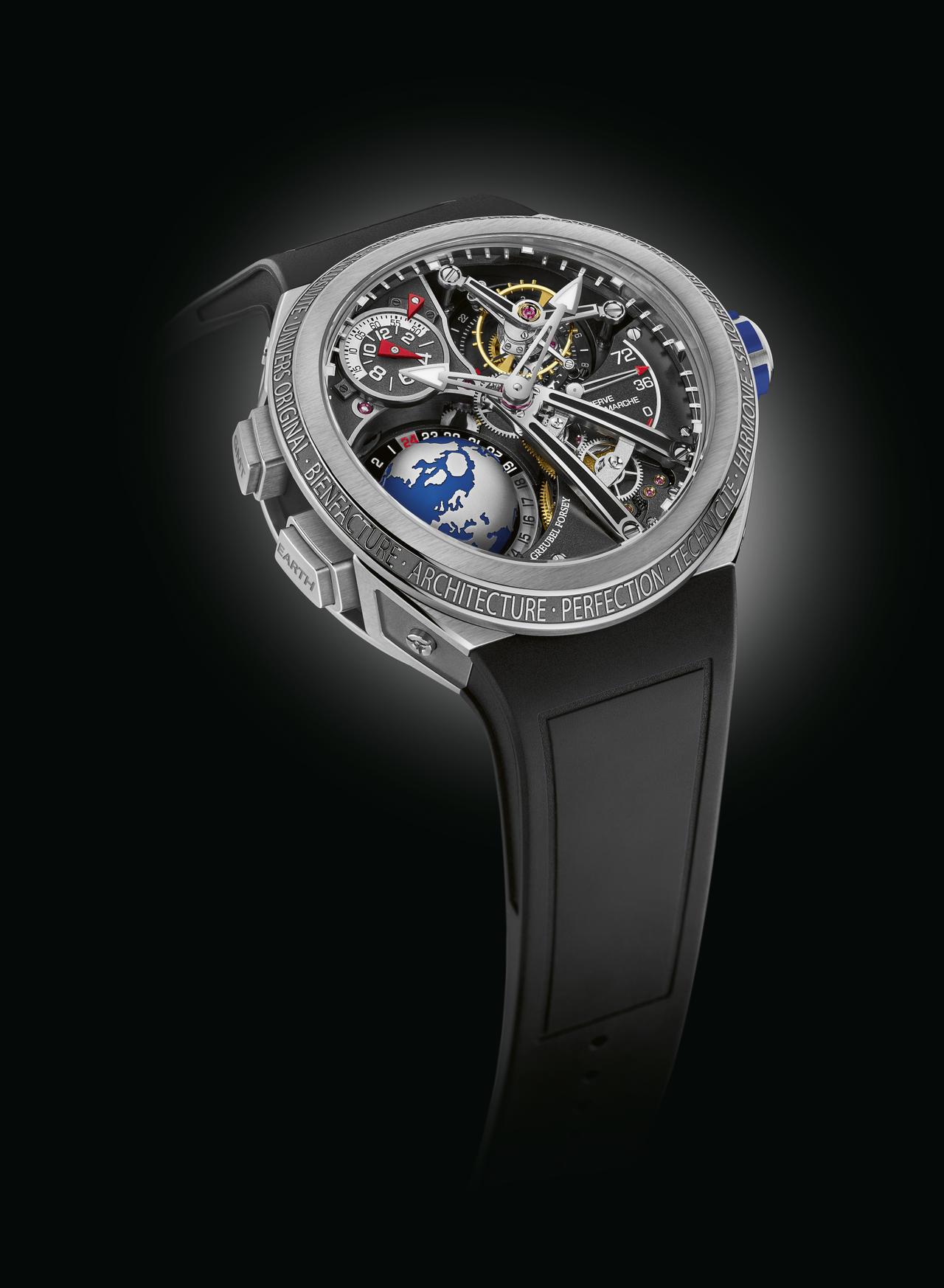 Greubel Forsey Unveils its Sportiest Watch