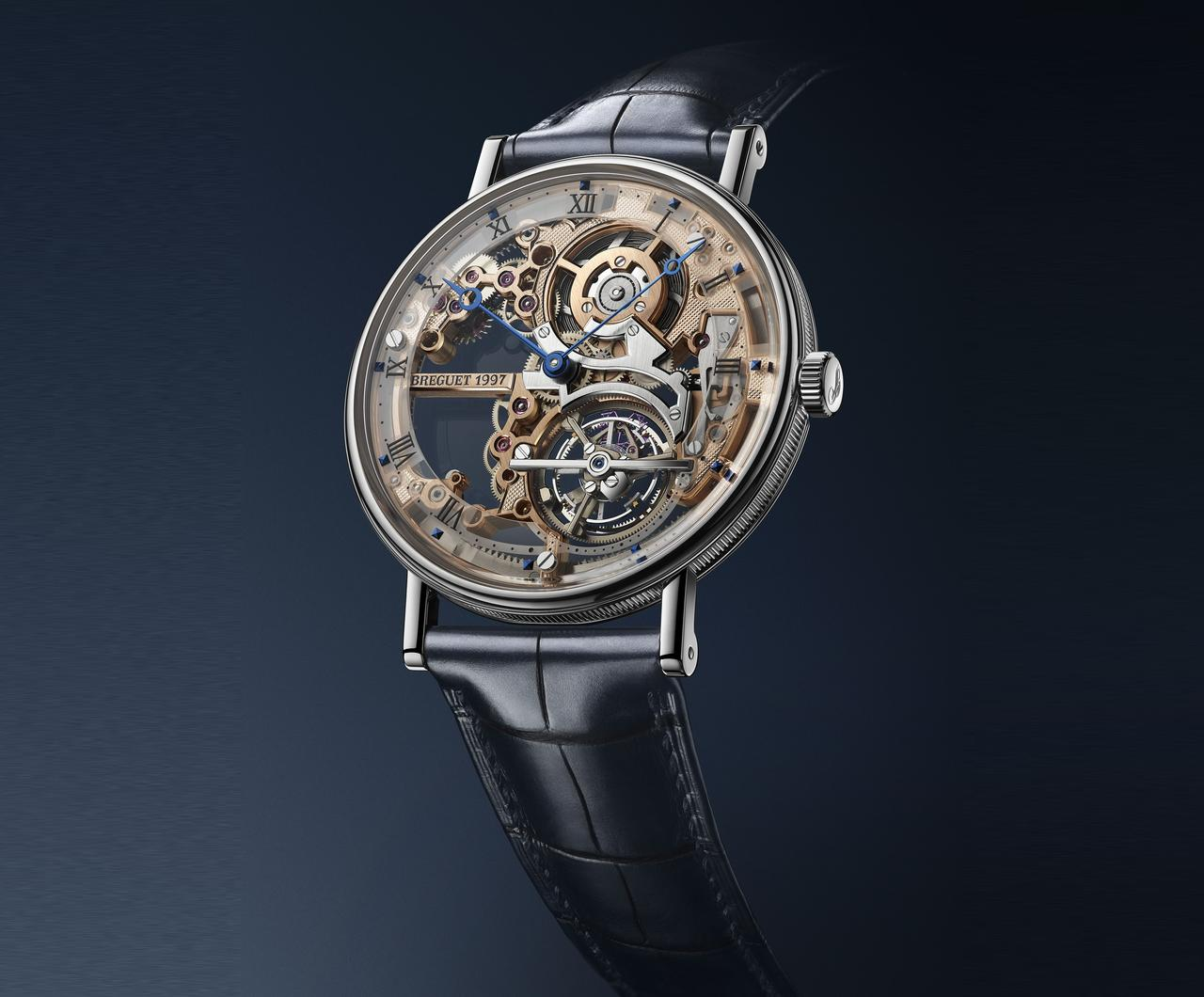 Breguet Skeletonizes its Thin Tourbillon