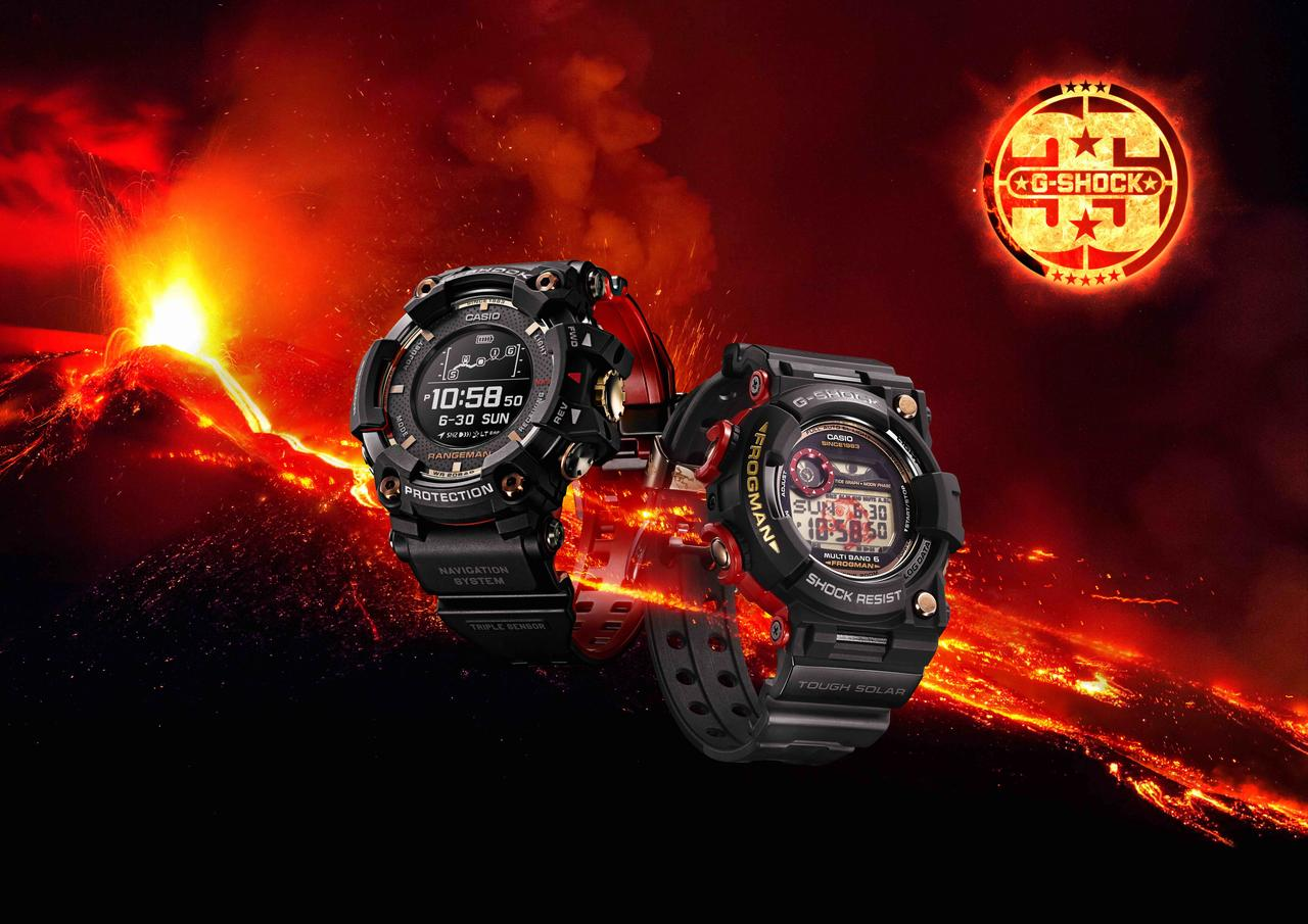 G-SHOCK Erupts with Magma Ocean