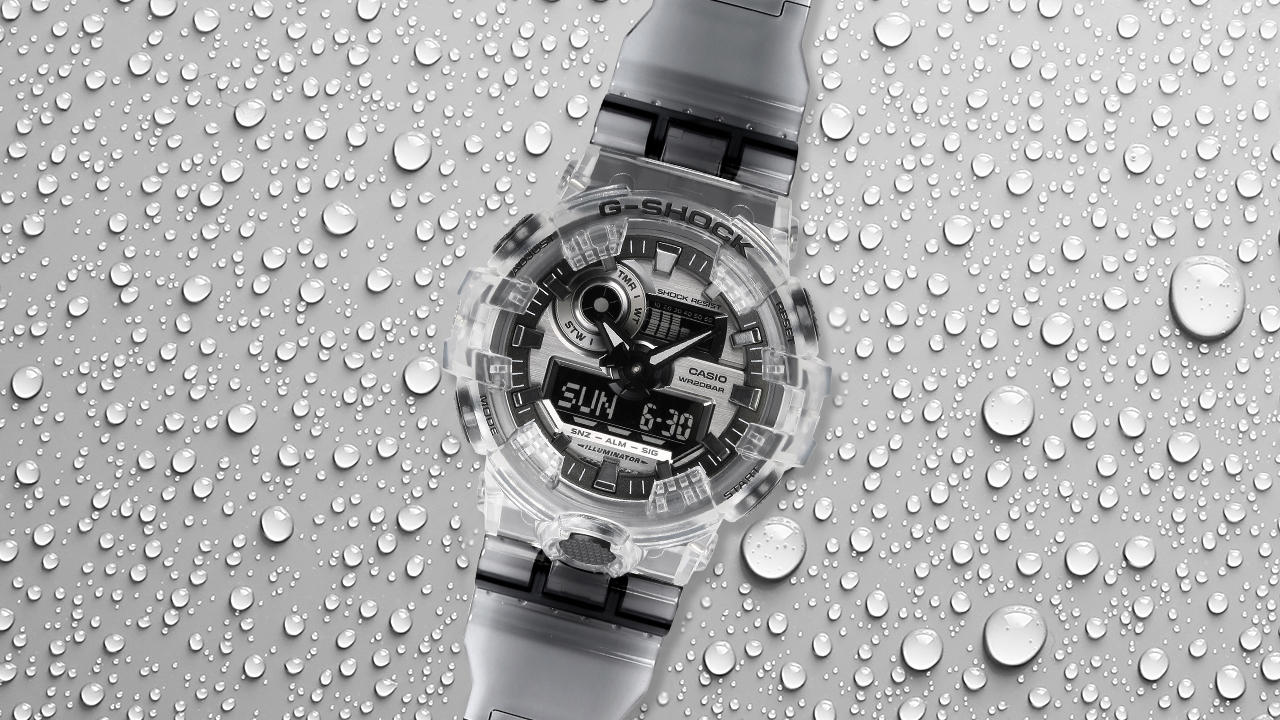 G-SHOCK's Clear Winner
