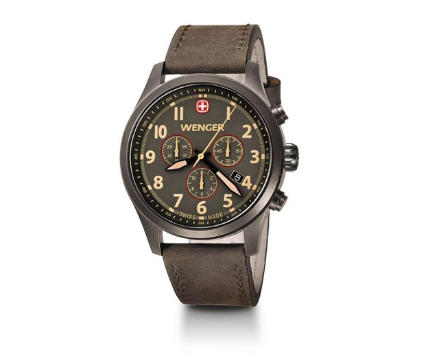 Wenger recently introduced the latest homage to the classic field watch  with the Terragraph Chrono. The timepiece is powered by a quartz movement  and its ... 71f07a346be