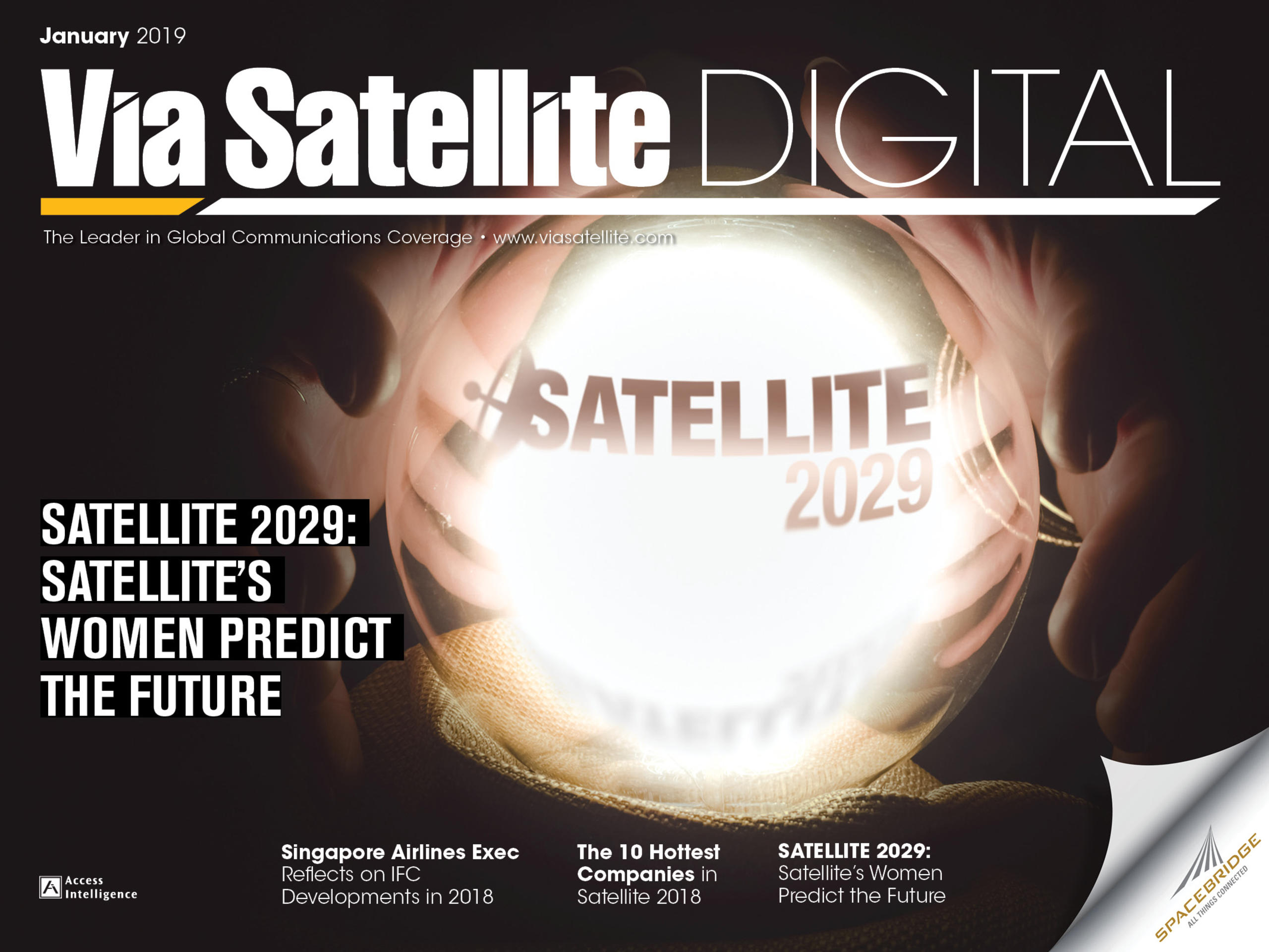 January 2019 - The 10 Hottest Companies in Satellite 2018