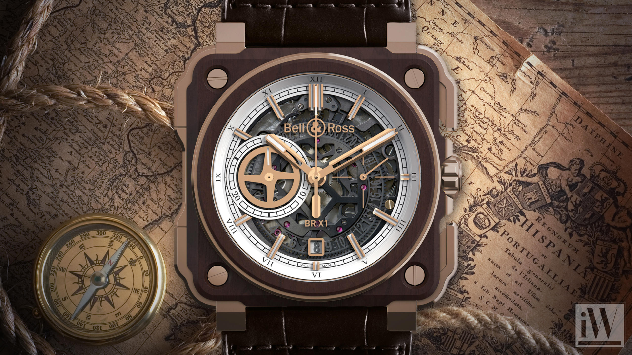 Rosewood & Bronze Re-Imagine Bell & Ross Icon