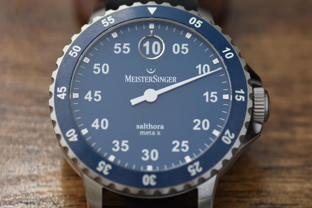On the Wrist  The Meistersinger Salthora Meta X  03cc25124f