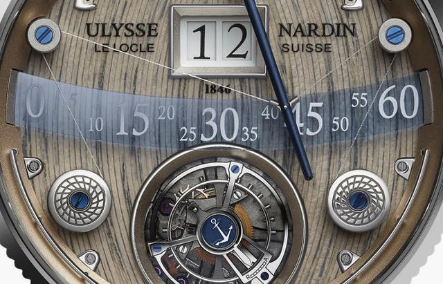 Ulysse Nardin Grand Deck Marine Tourbillon