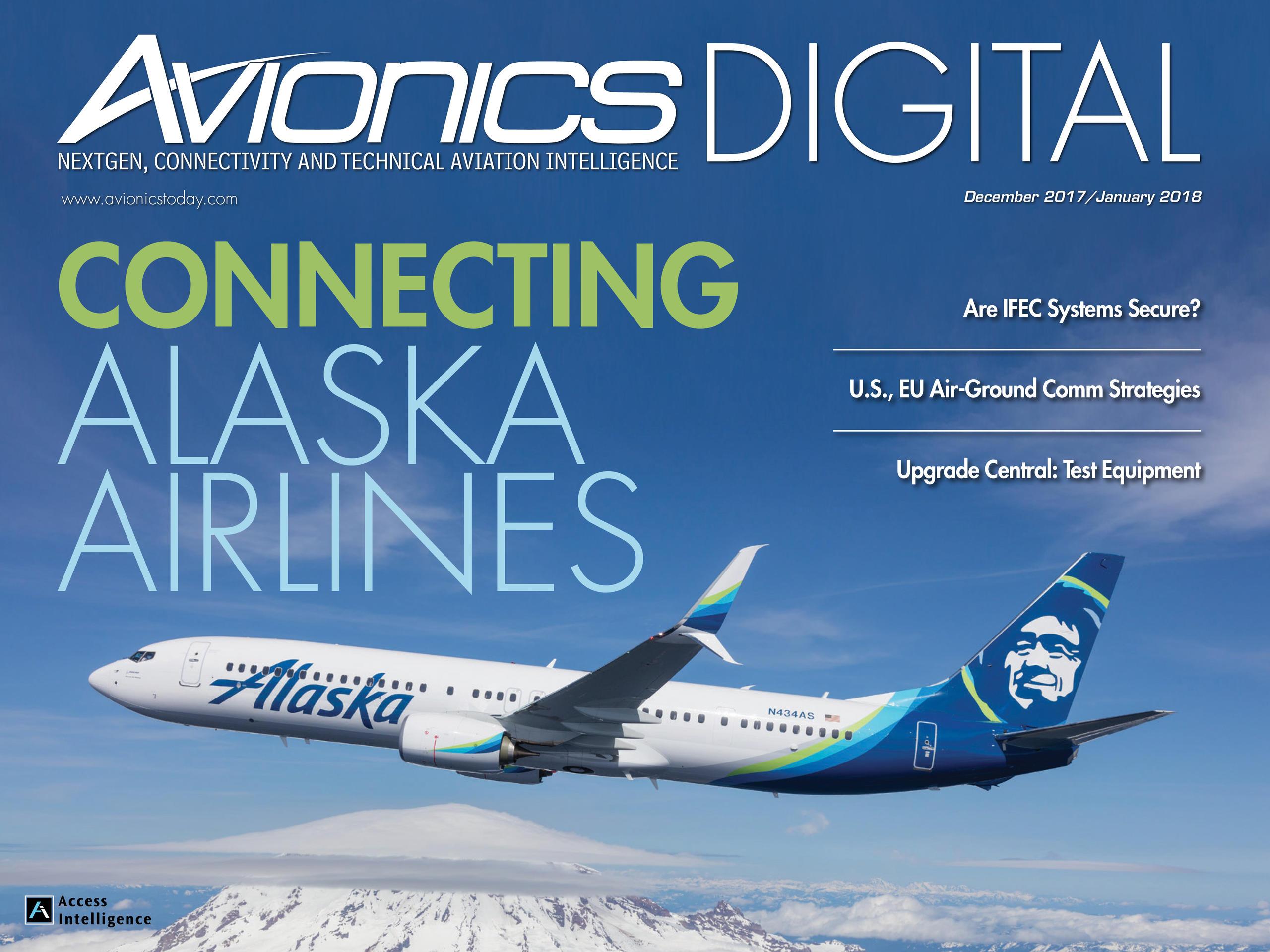 2854650de666 December 2017 January 2018 - Alaska Airlines  Fleet Upgrades and Flight  Innovation