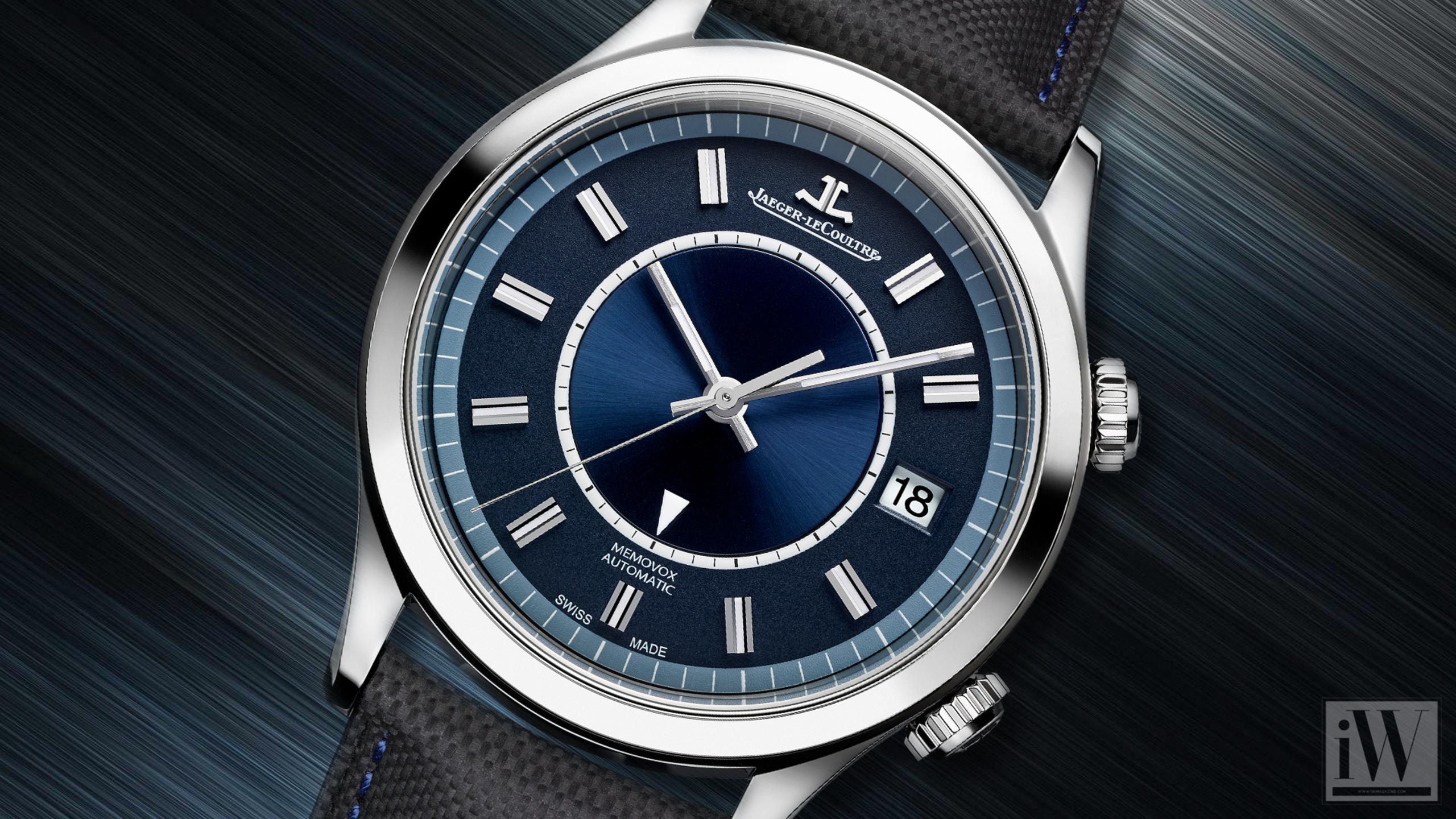 Jaeger-LeCoultre Celebrates Memovox with a Special Boutique Edition
