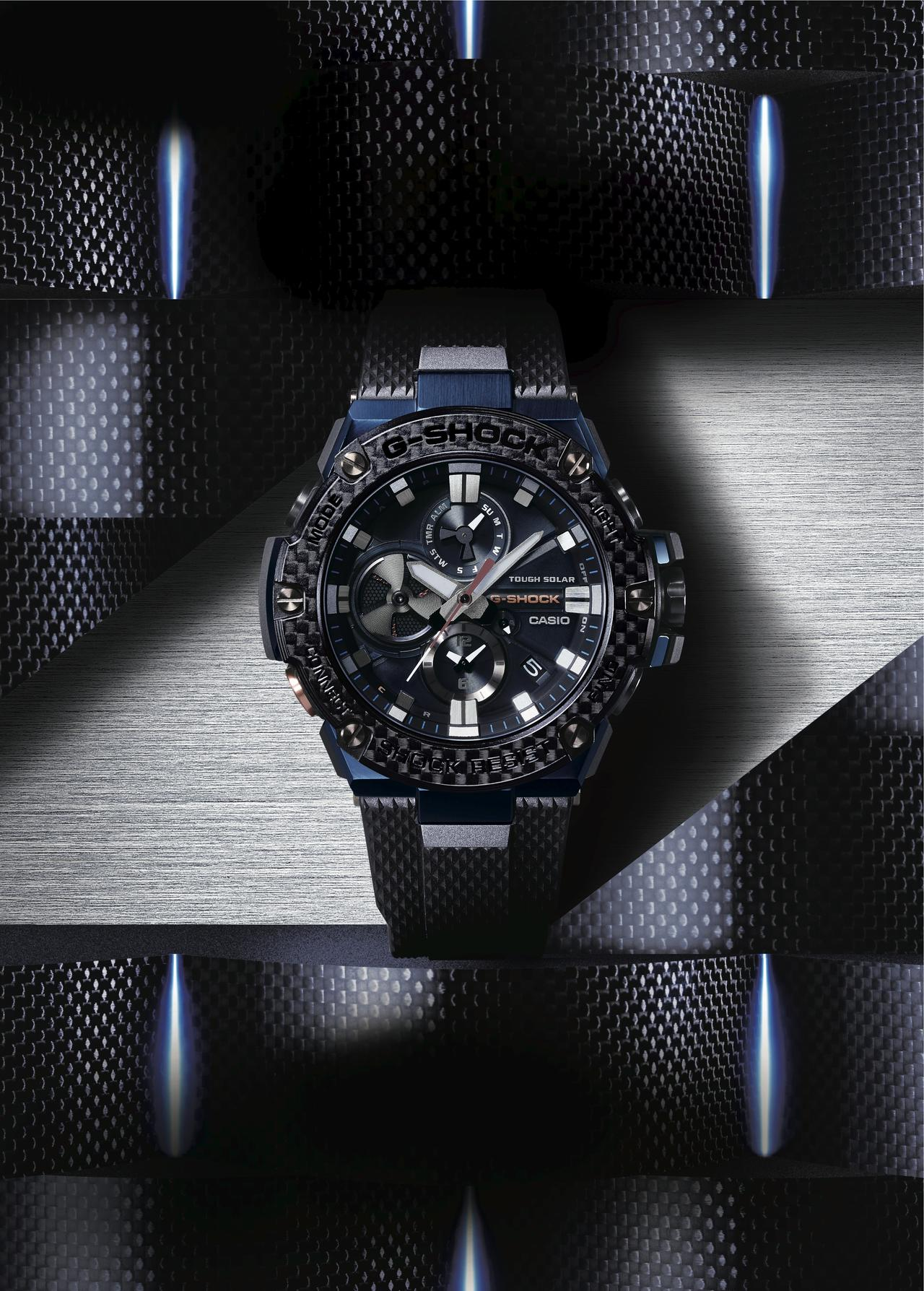 A New Blue Hue for G-SHOCK G-STEEL