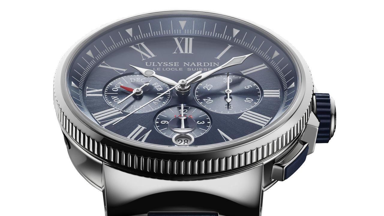 New Watch Alert: Ulysse Nardin Marine Chronograph Annual Calendar