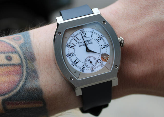 On the Wrist: F.P. Journe Elegante 48