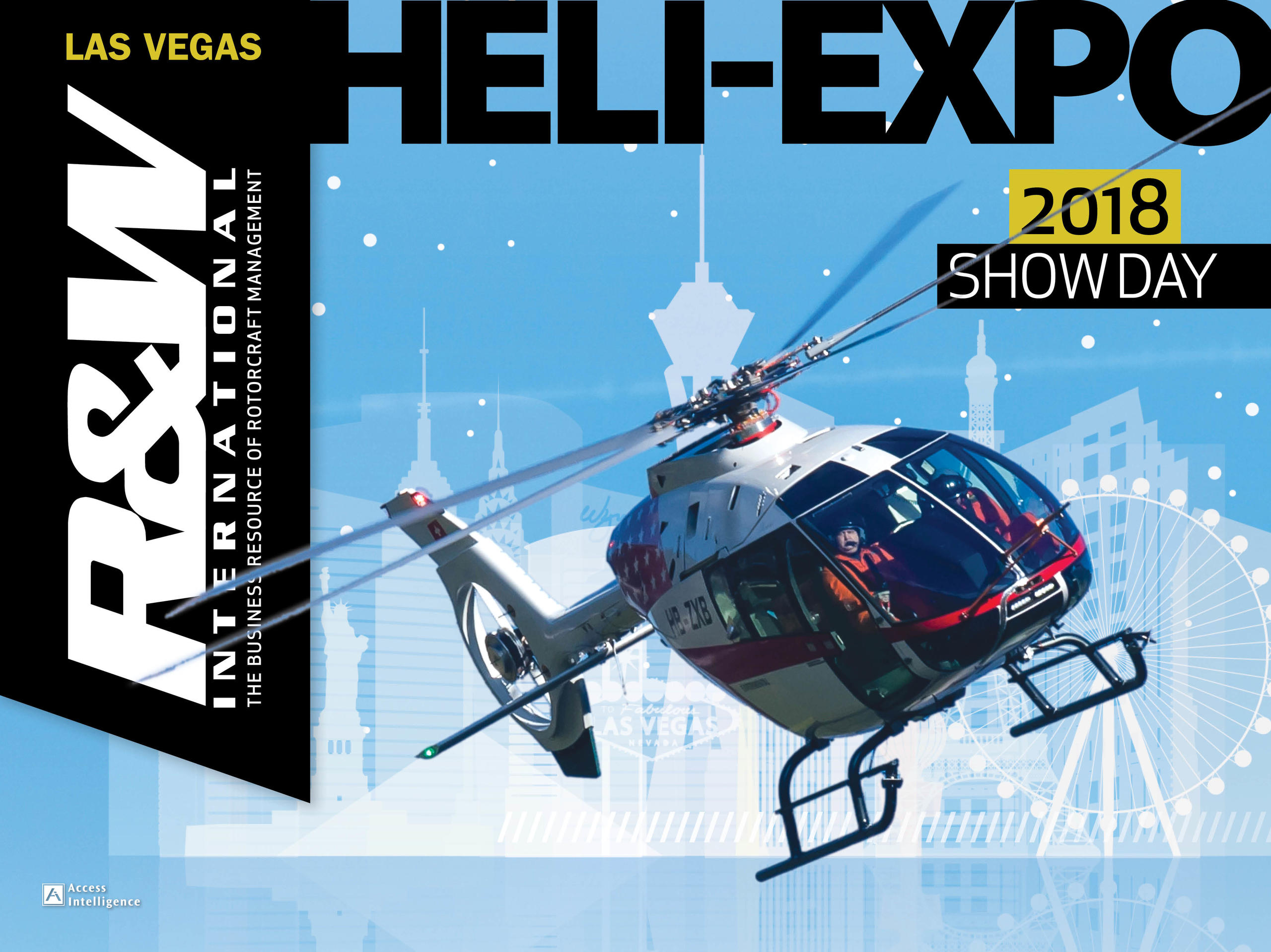 Heli-Expo Show Day 2018 - Heli-Expo Show News and Happenings | Rotor