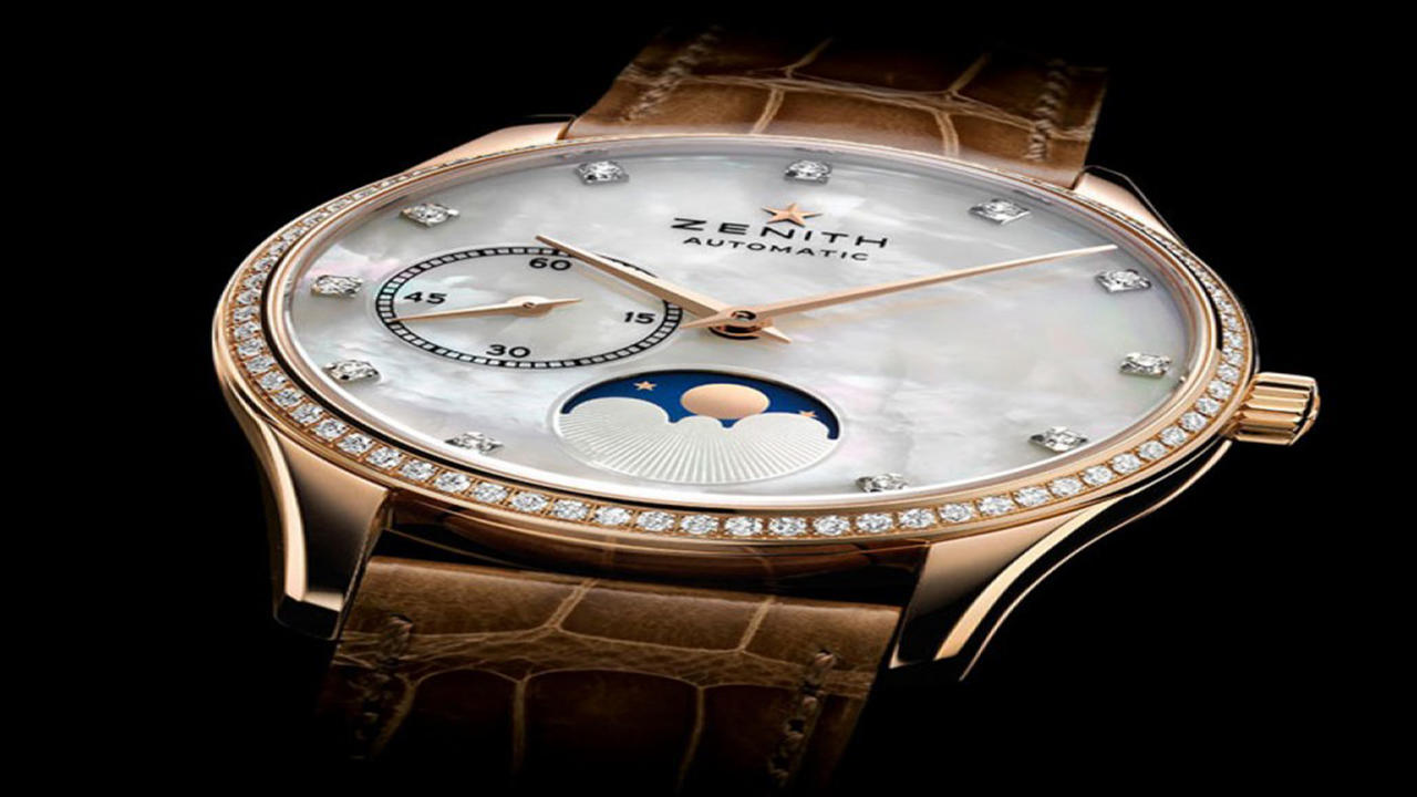 Summer Sixteen Introductions: Zenith Elite Lady Moonphase Models