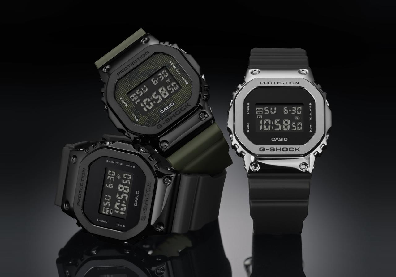 G-SHOCK's Reinforced Classic Design