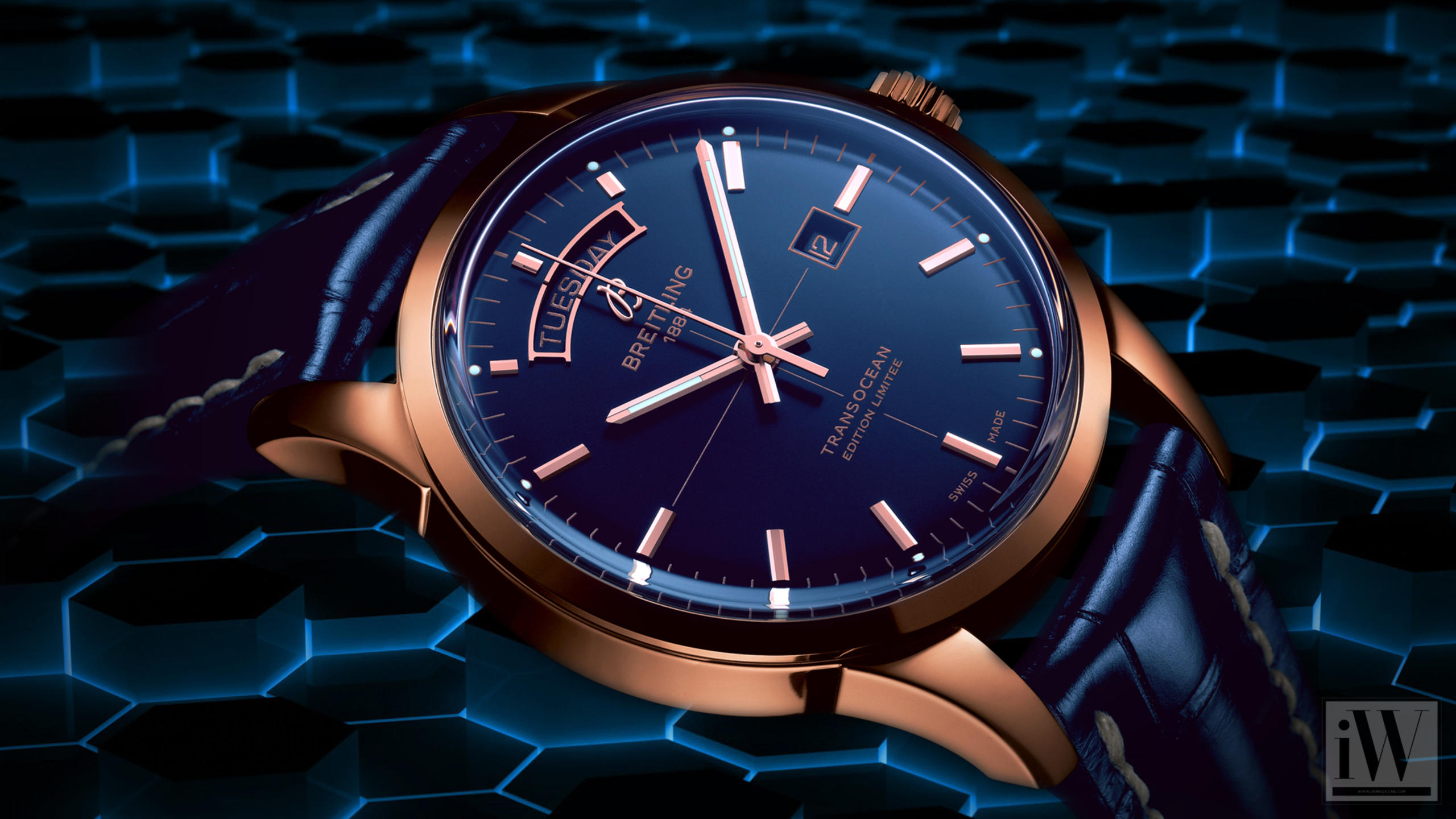 Breitling Transocean Day & Date U.S. Limited Edition