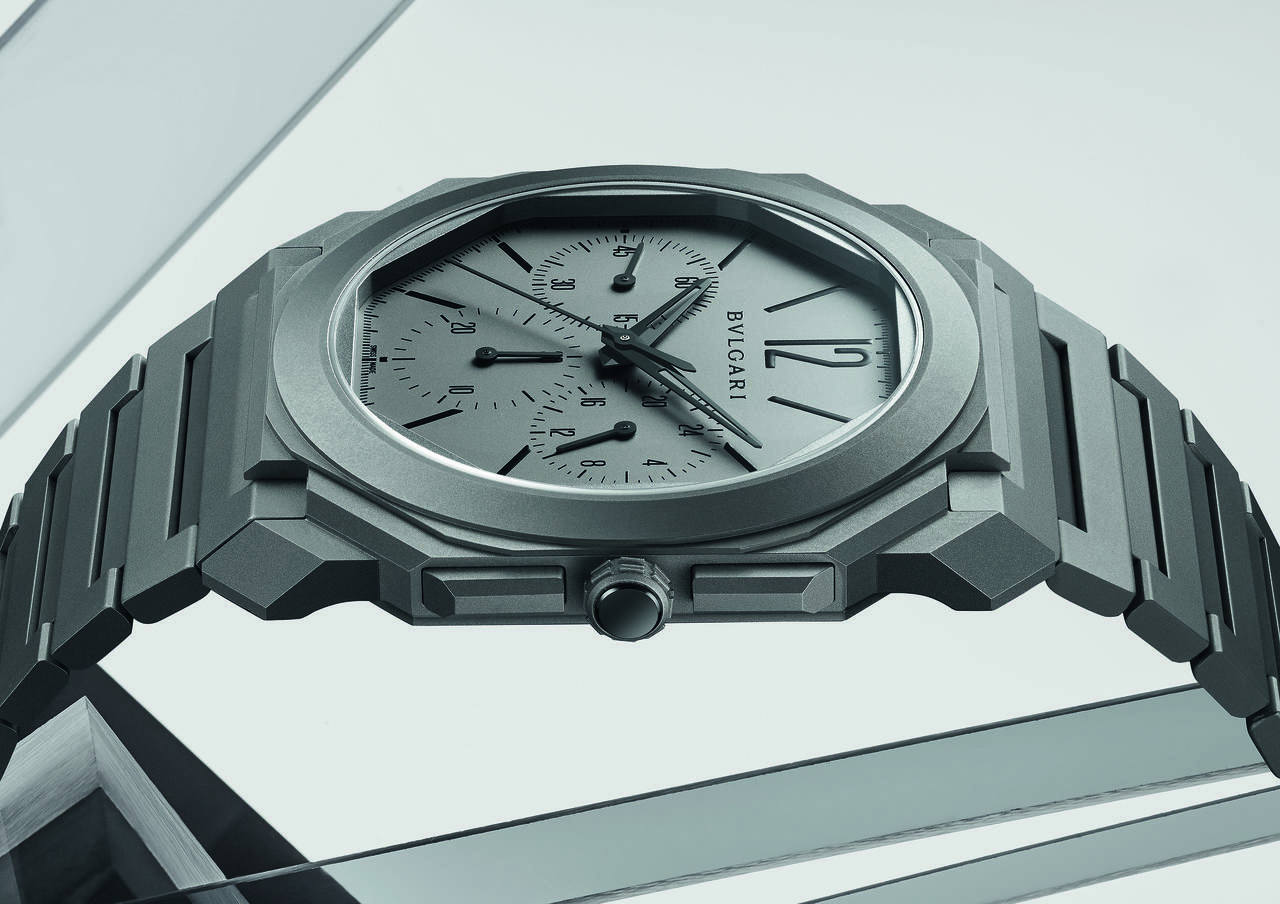 Bulgari Launches Thinnest Automatic Chronograph