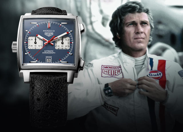 tag heuer monaco steve mcqueen. Black Bedroom Furniture Sets. Home Design Ideas