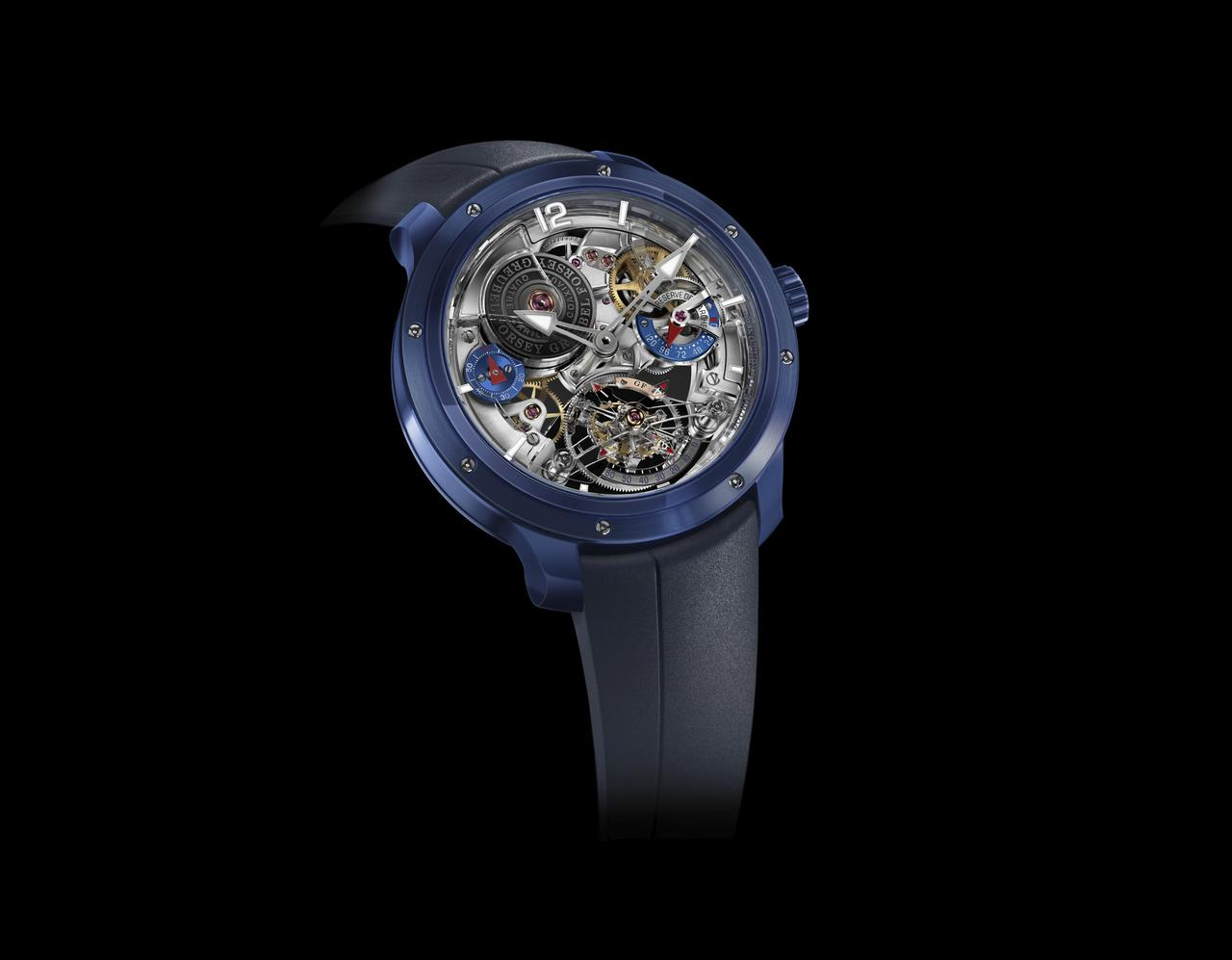 Greubel Forsey Debuts its First Ceramic Case