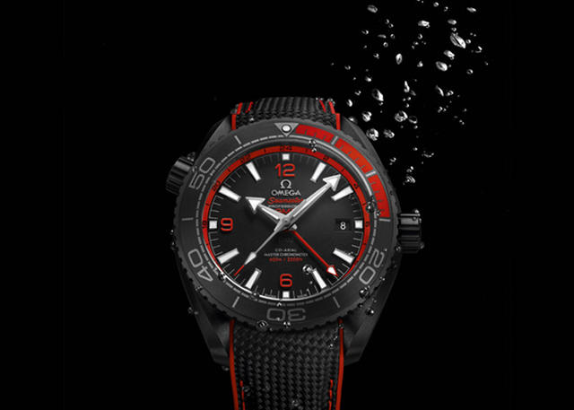 Dive in with the Omega Planet Ocean 'Deep Black' Collection
