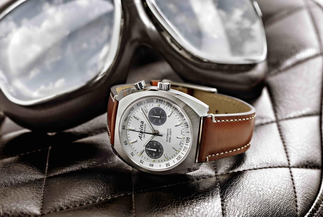 Alpina Launches Monopusher Pilot Chronograph