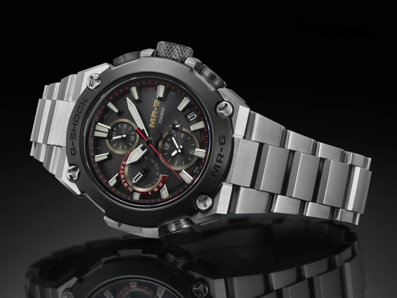 New G-SHOCK MR-G Evokes Power and Beauty