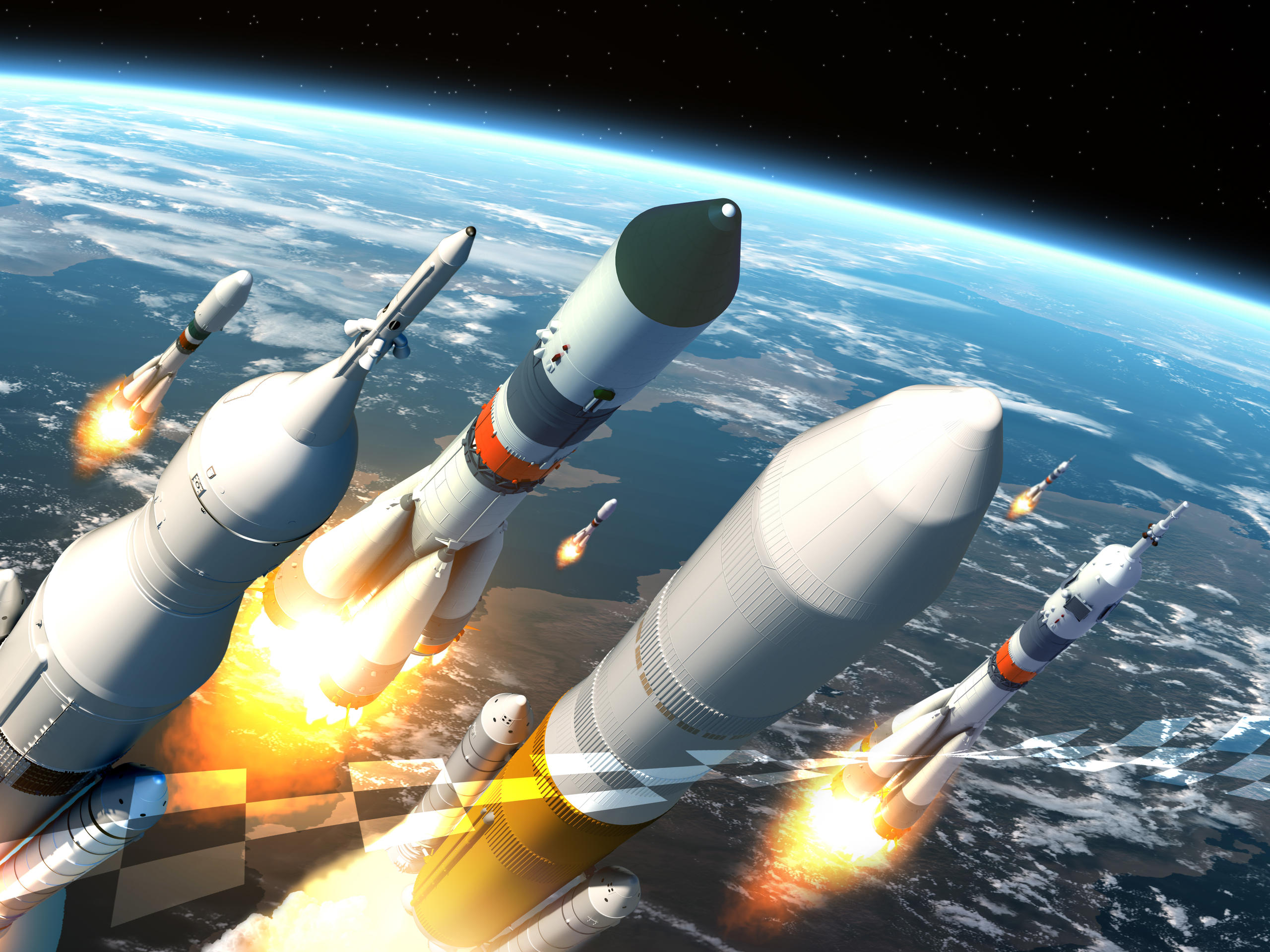 December 2016 - Launchers: The Race to Orbit Tomorrow's Spacecraft | Via Satellite