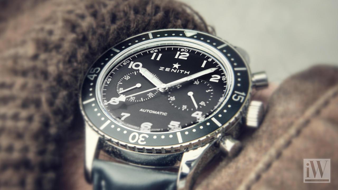 Updated Instrument: Zenith Heritage Cronometro TIPO CP-2