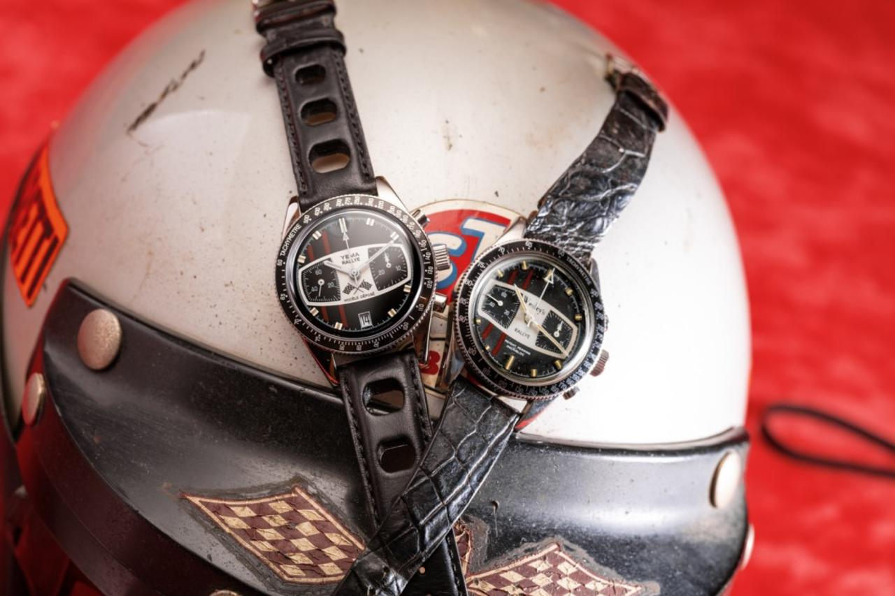 Mario Andretti and his Yema Chronograph