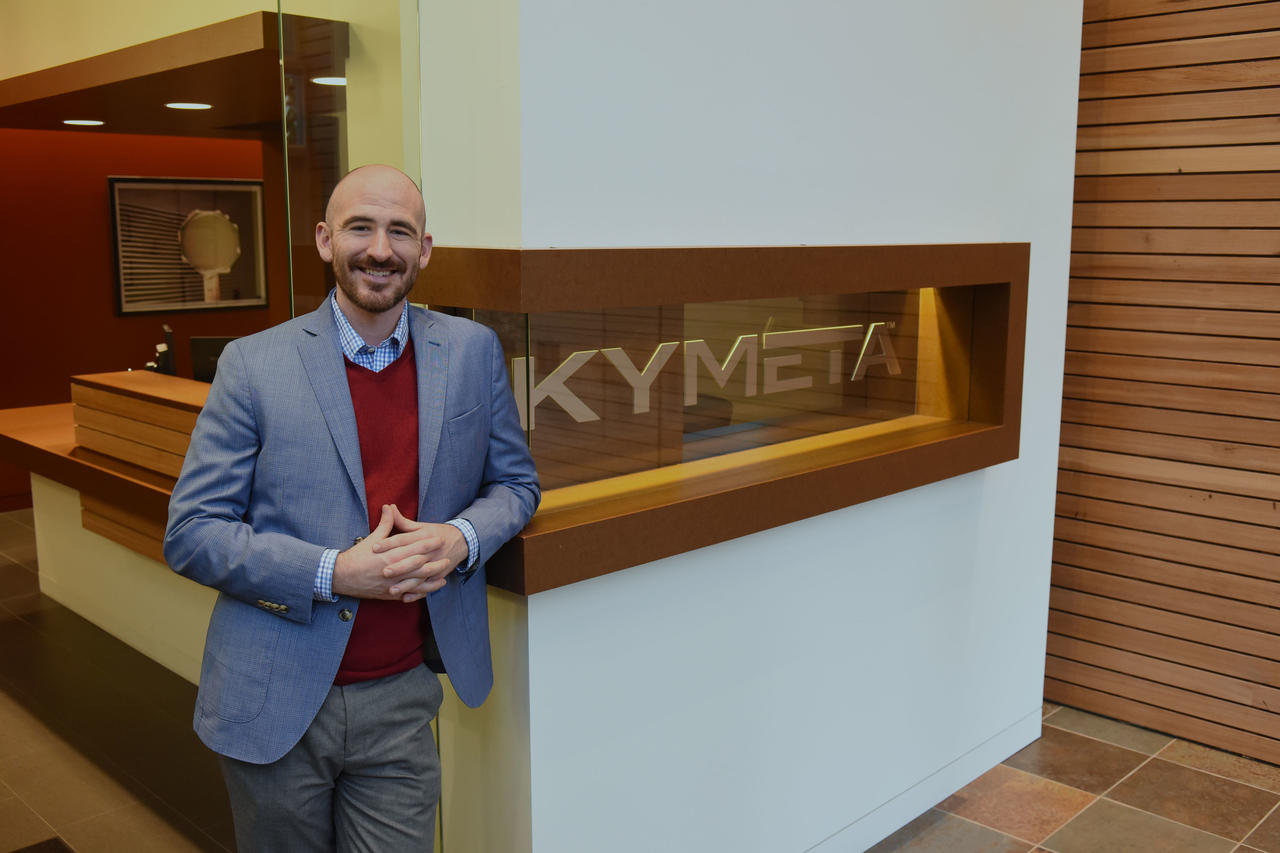 Nathan Kundtz Satellite Executive of the Year for Kymeta mTenna Technology