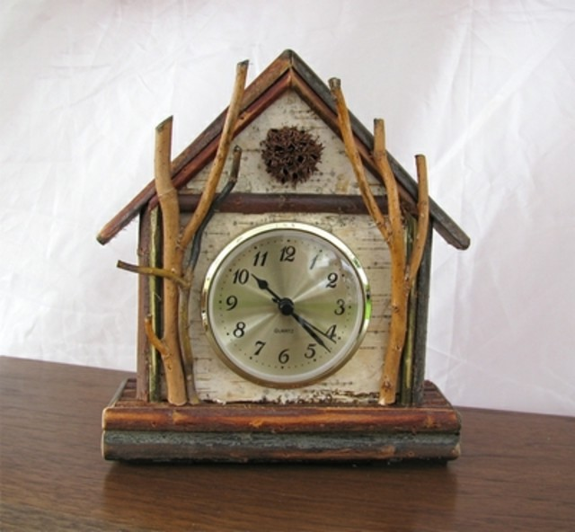 Rustic Table Clock: 301 Moved Permanently