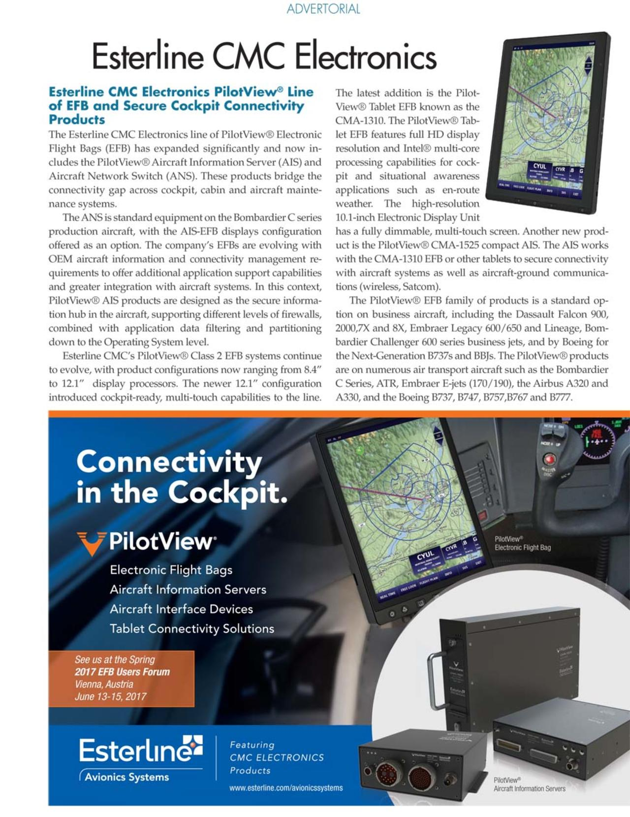 EFB Users Forum Supplement - Aviation Today