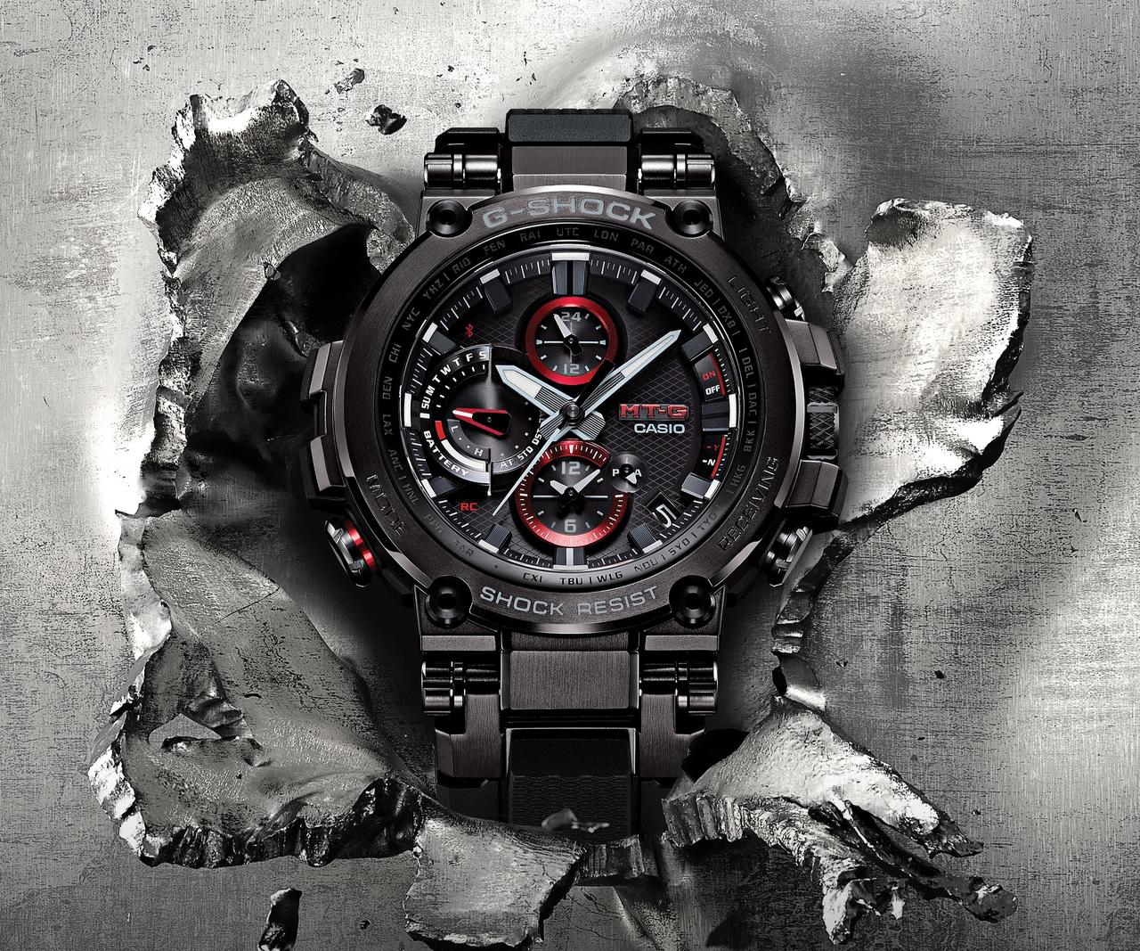 A Tough, Refined & Connected G-SHOCK