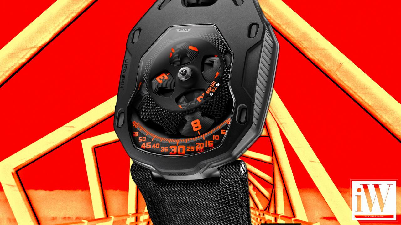 Urwerk UR-105TA Clockwork Orange