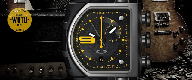 Astonishing Oakley Fusebox Unobtainium Strap Edition Watch Iw Magazine Wiring Cloud Hisonuggs Outletorg