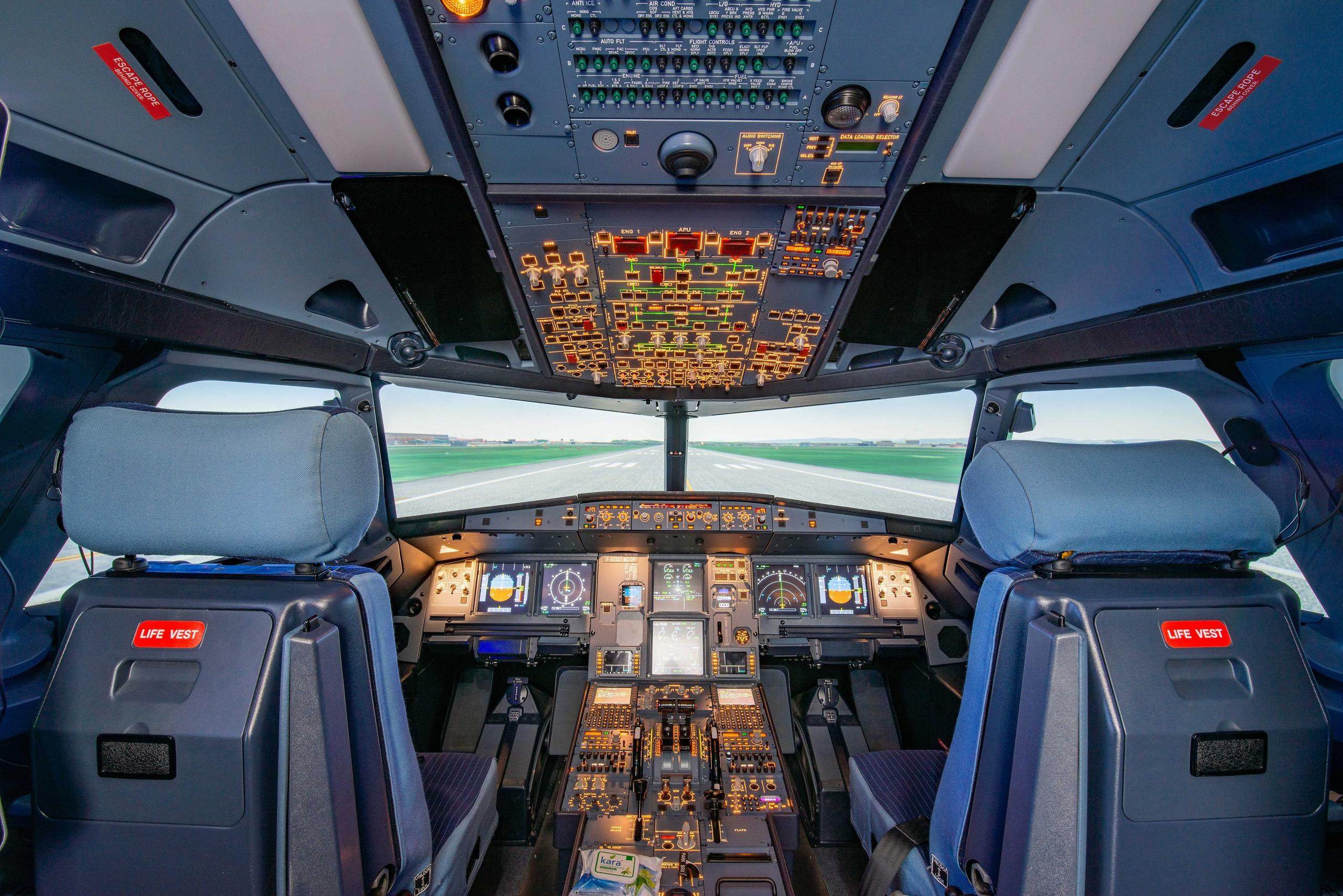 July 2019 - Behind the Screens: Developing Flight Controls for