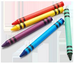 crayons april